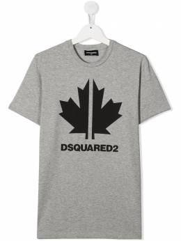 Dsquared2 Kids футболка с логотипом DQ0492D00ZA