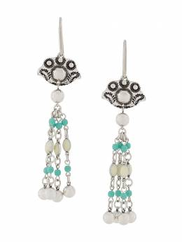 Isabel Marant beaded drop earrings BL102520A032B