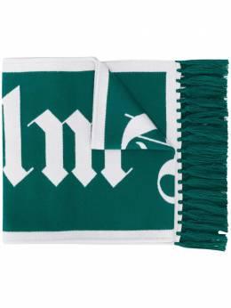 Palm Angels logo print scarf PMMA011E20KNI0015501