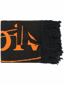 Off-White intarsia-knit scarf OMMA001E20KNI0041020