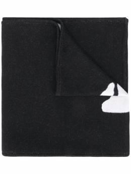 Off-White logo scarf OMMA011E20KNI0021001