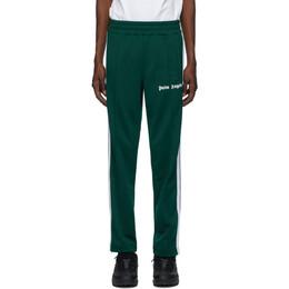 Palm Angels Green Classic Track Pants PMCA007E20FAB0015501