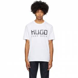 Hugo White Dolive203 T-Shirt 50430758