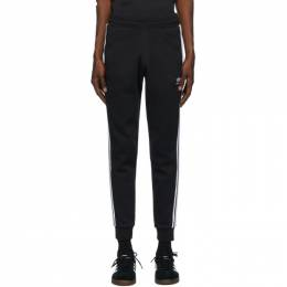 Adidas Originals Black 3-Stripes Lounge Pants DV1549