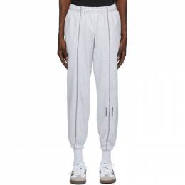 Adidas Originals Grey Crew Lounge Pants GD9304