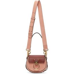 Chloe Pink and Burgundy Small Tess Bag CHC20AS153D04