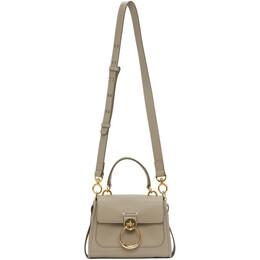 Chloe Grey Mini Tess Day Bag CHC20AS143C62