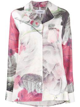 Soulland рубашка Olga с цветочным принтом OLGA