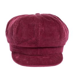 D&G Rosewood Pink Corduroy Newsboy Cap S Dandg 303300