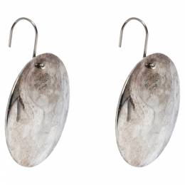 Tiffany & Co. Elsa Peretti Round Drop Silver Earrings 302903