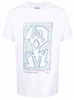 Marcelo Burlon County Of Milan cross man print T-shirt CMAA018E20JER0130145