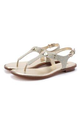 Текстильные сандалии MICHAEL Michael Kors 40R8MKFA1D