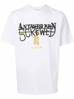 Vetements футболка с принтом Antwerpen UAH21TR502