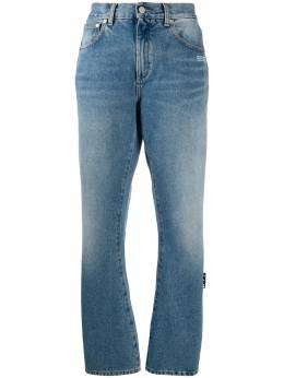 Off-White washed-effect straight-leg jeans OWYA019E20DEN0044000