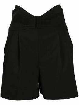 Red Valentino tuxedo bow detail high-waisted shorts UR3RFD5500J