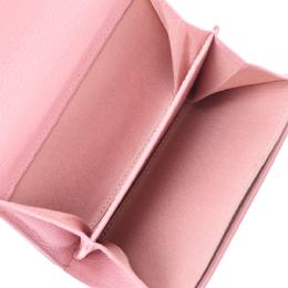 Chanel Pink Calfskin Leather Medium Wallet 303208