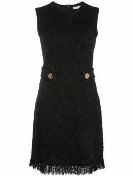 Oscar De La Renta короткое платье без рукавов 20PN132TWDBLK