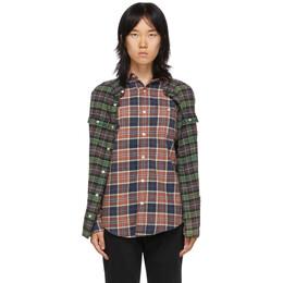 R13 Multicolor Double Shirt 13W7625-594