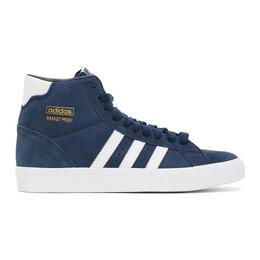 Adidas Originals Navy Basket Profi Sneakers FW4514