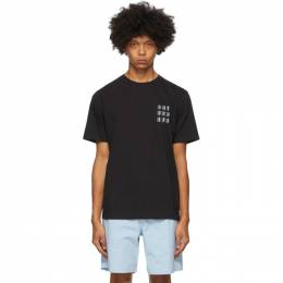Saturdays Nyc Black Josef T-Shirt M32029PT03