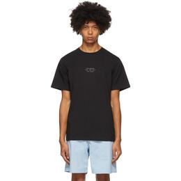 Saturdays Nyc Black Seasonal United T-Shirt M32029PT02