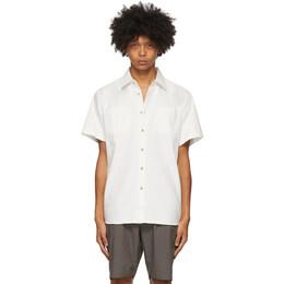 Saturdays Nyc White Centre Shirt M32030CE01