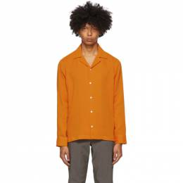 Saturdays Nyc Orange Marco Shirt M32020MC01