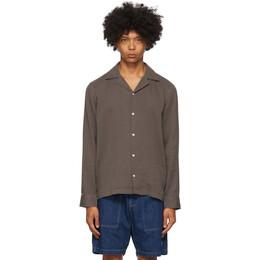 Saturdays Nyc Grey Marco Shirt M32020MC01