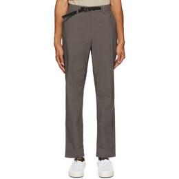 Saturdays Nyc Grey Shaw Trousers M32018SH01