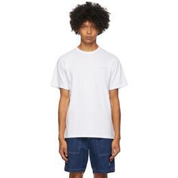 Saturdays Nyc White Leon T-Shirt M32029PT06