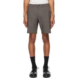 Saturdays Nyc Grey Union Shorts M32021UN01