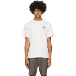 Saturdays Nyc Off-White Hayes T-Shirt M32029PT14
