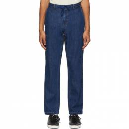 Saturdays Nyc Indigo Shaw Jeans M32018SH02