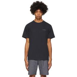 Saturdays Nyc Navy Leon T-Shirt M32029PT06
