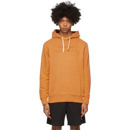 Saturdays Nyc Orange Ditch Miller Standard Hoodie M32028DT04