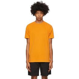 Saturdays Nyc Orange Pima Brandon T-Shirt M32012BR01*