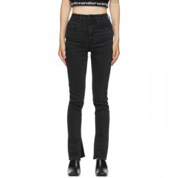 Alexander Wang Black Stovepipe Jeans 4DC2204771