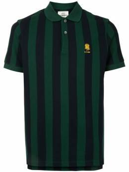 Kent & Curwen полосатая рубашка поло с нашивкой K4100334I049