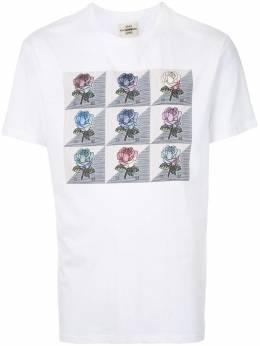 Kent & Curwen футболка с круглым вырезом и принтом K4100088I090