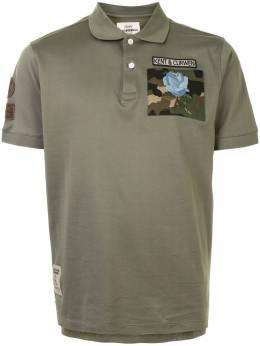 Kent & Curwen рубашка поло с нашивкой K4100345I043