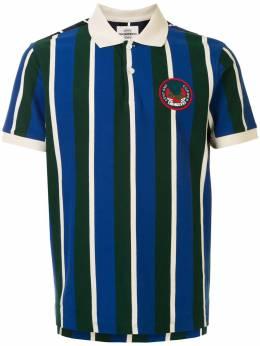 Kent & Curwen полосатая рубашка поло с короткими рукавами K4100343I035