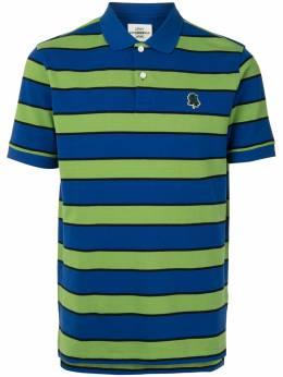 Kent & Curwen полосатая рубашка поло с короткими рукавами K4100337I044