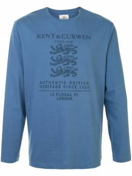 Kent & Curwen футболка с длинными рукавами и логотипом K4100292I036