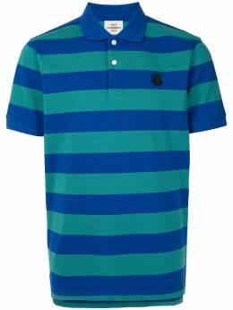 Kent & Curwen полосатая рубашка поло с нашивкой K4100058I034