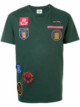 Kent & Curwen футболка с нашивкой-логотипом K4100294I046