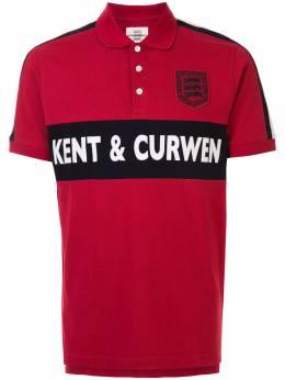 Kent & Curwen рубашка поло с вышитым логотипом K4100038I076