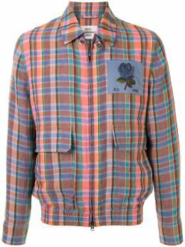 Kent & Curwen клетчатая куртка-рубашка K4100424I077