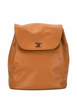 Chanel Pre-Owned рюкзак 1998-го года с логотипом CC 5603477