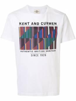 Kent & Curwen футболка с графичным принтом K4100085I090