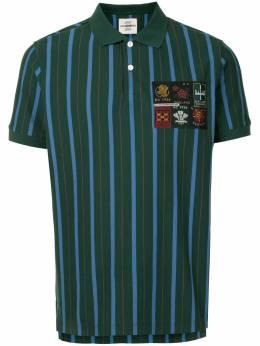 Kent & Curwen рубашка поло в полоску K4100053I046